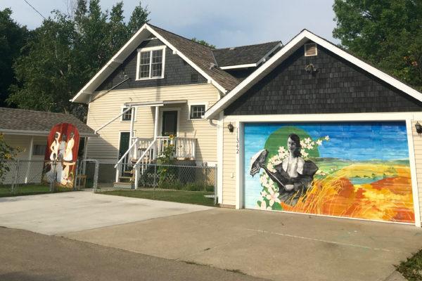 Mural at McLuhan House